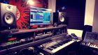 Partly studio shot
